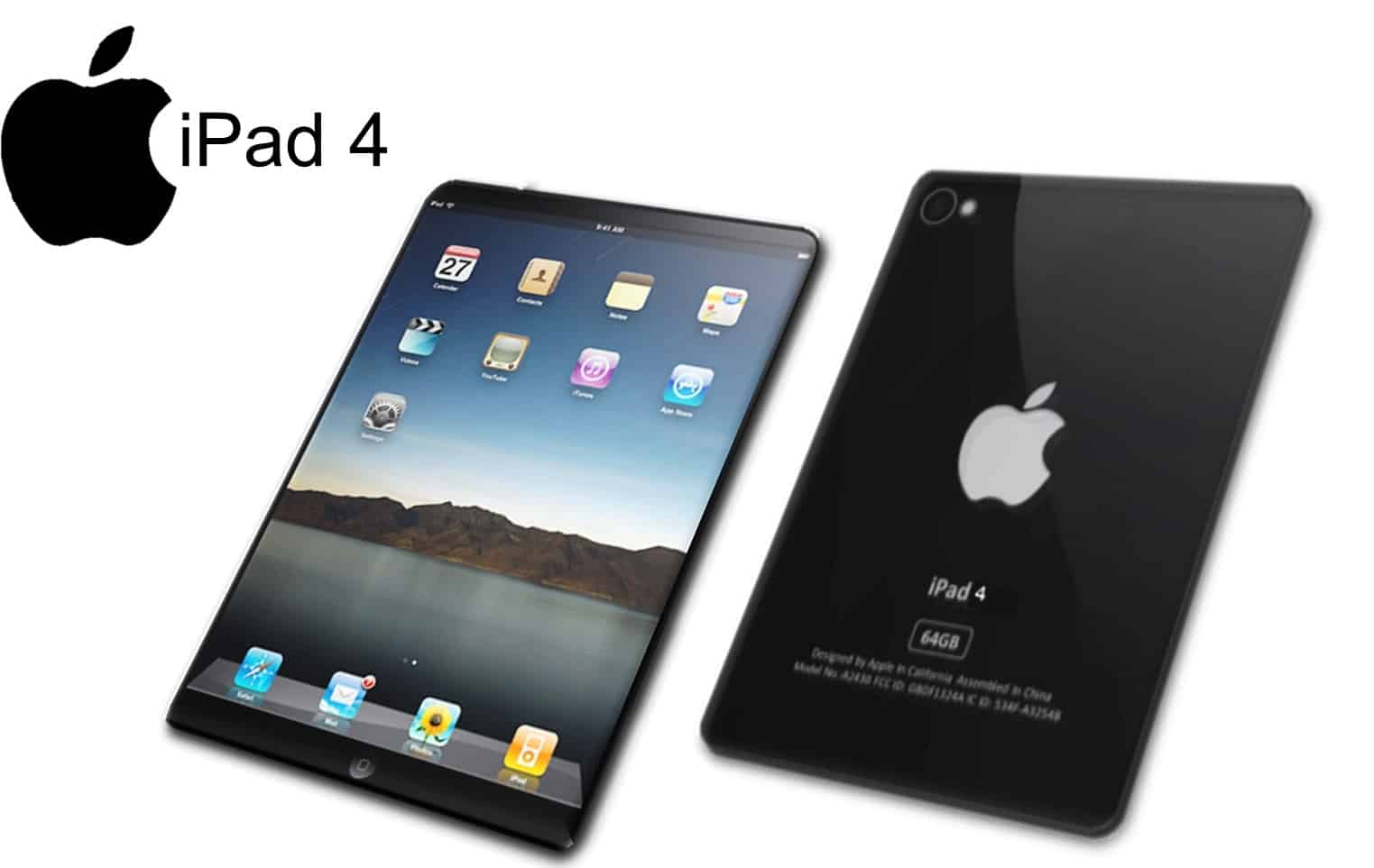 ipad features ipad4 and ipad5 features included   my