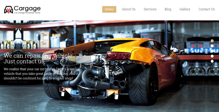 cargage-wordpress-theme