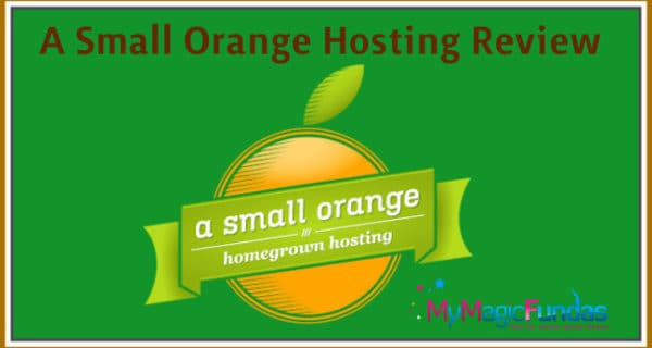 Review Of A Small Orange Hosting