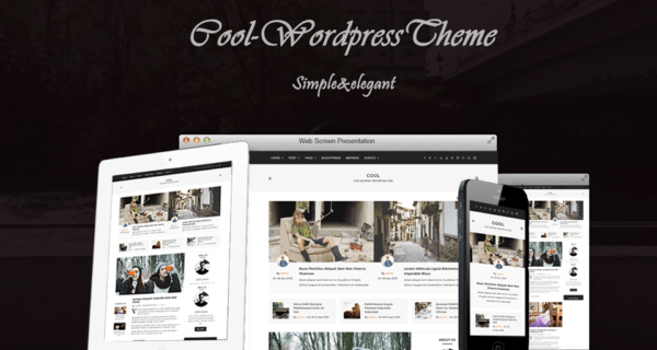 Cool – A Trendy Theme For WordPress Bloggers