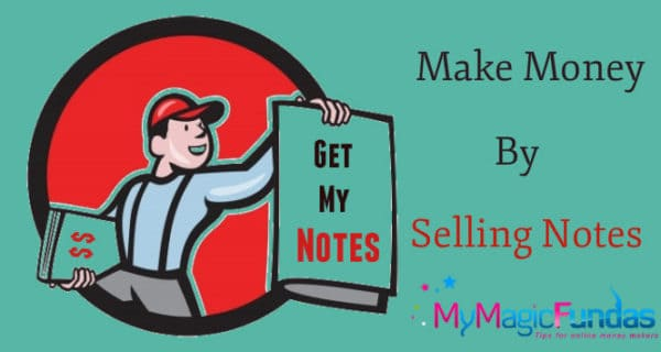 How Can Students Put Their Notes For Sale And Earn Money?