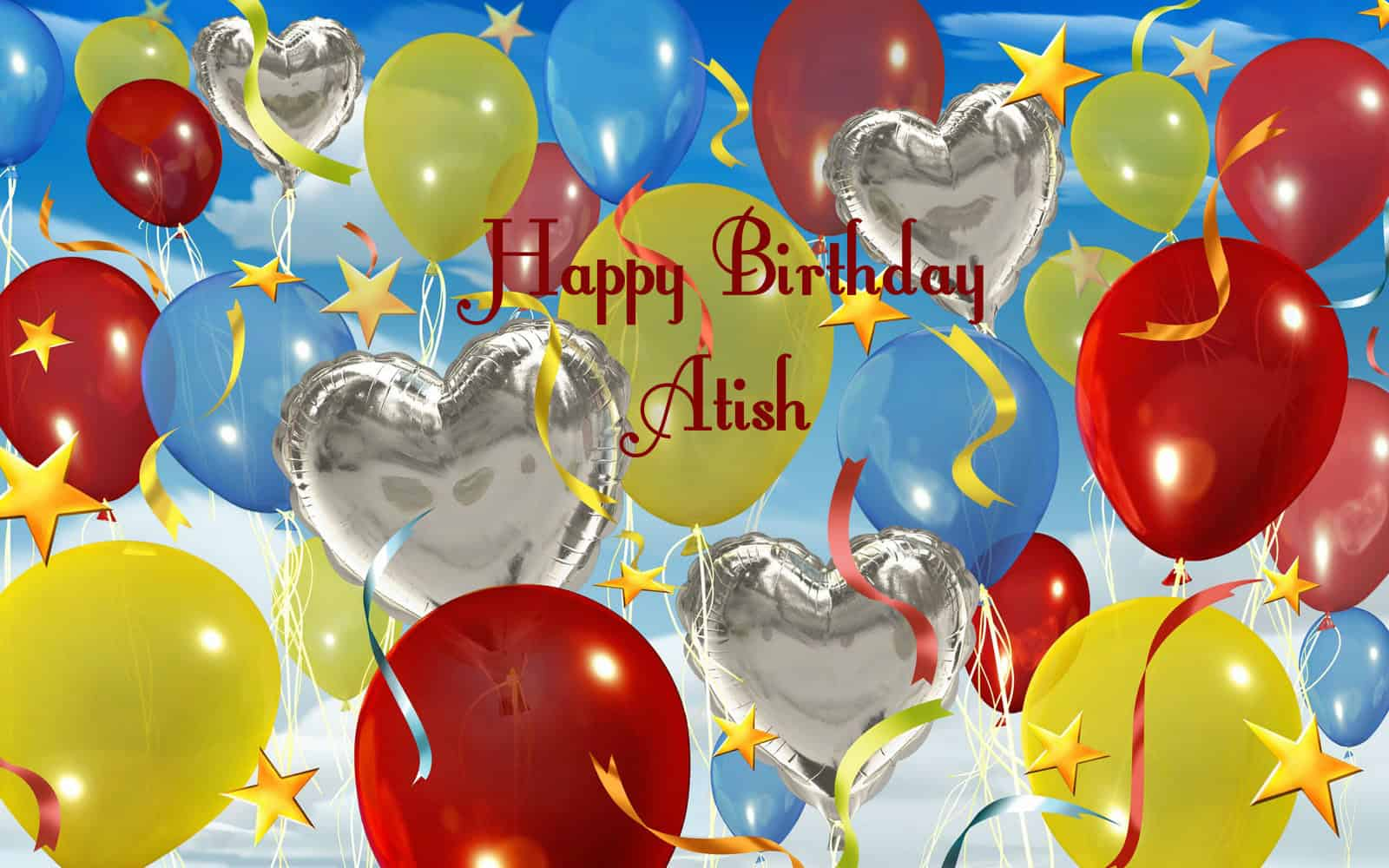 Happy Birthday Atish – Live Birthday Greetings
