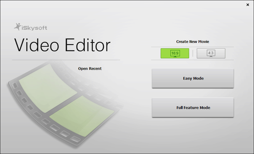 iskysoft-video-editor-modes