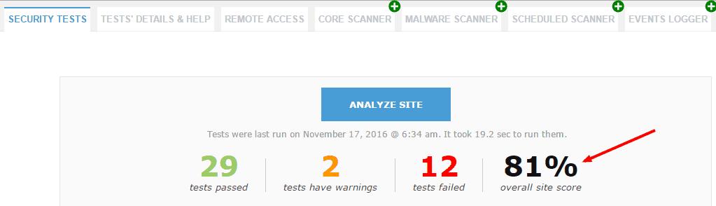 security-ninja-plugin-tests