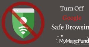 disable-google-safe-browsing